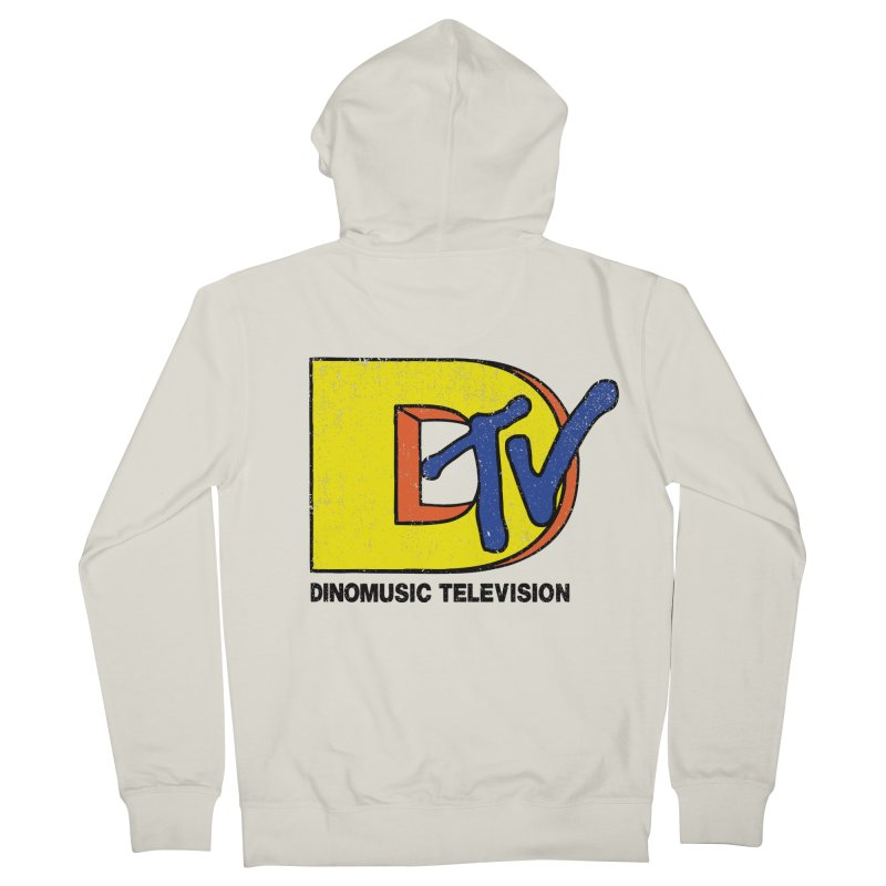 Dinomusic Television Women's Zip-Up Hoody by Daletheskater