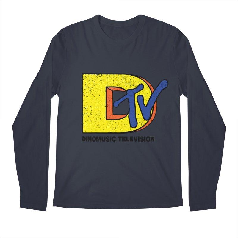 Dinomusic Television Men's Longsleeve T-Shirt by Daletheskater