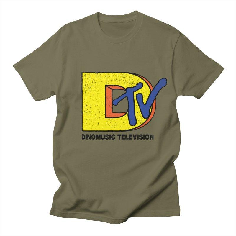 Dinomusic Television Women's Unisex T-Shirt by Daletheskater