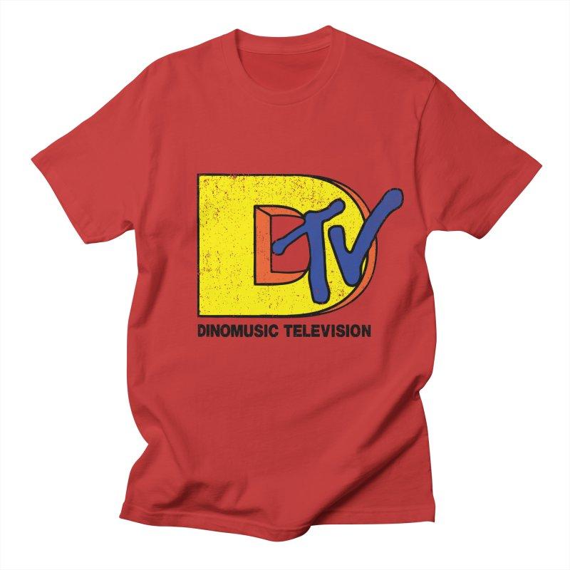 Dinomusic Television Men's T-Shirt by Daletheskater