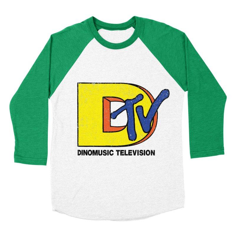 Dinomusic Television Women's Baseball Triblend T-Shirt by Daletheskater