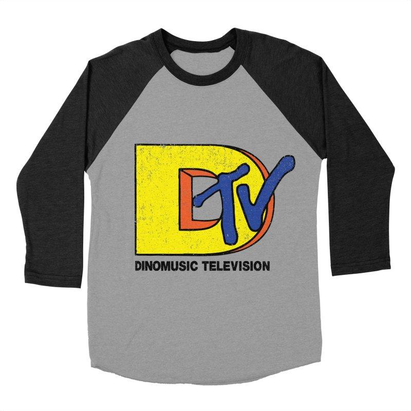Dinomusic Television Men's Baseball Triblend T-Shirt by Daletheskater