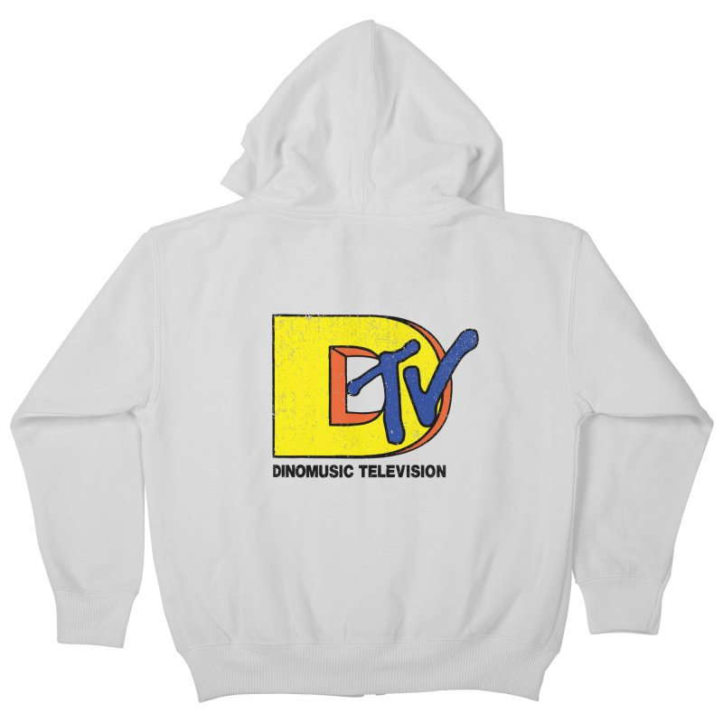 Dinomusic Television Kids Zip-Up Hoody by Daletheskater