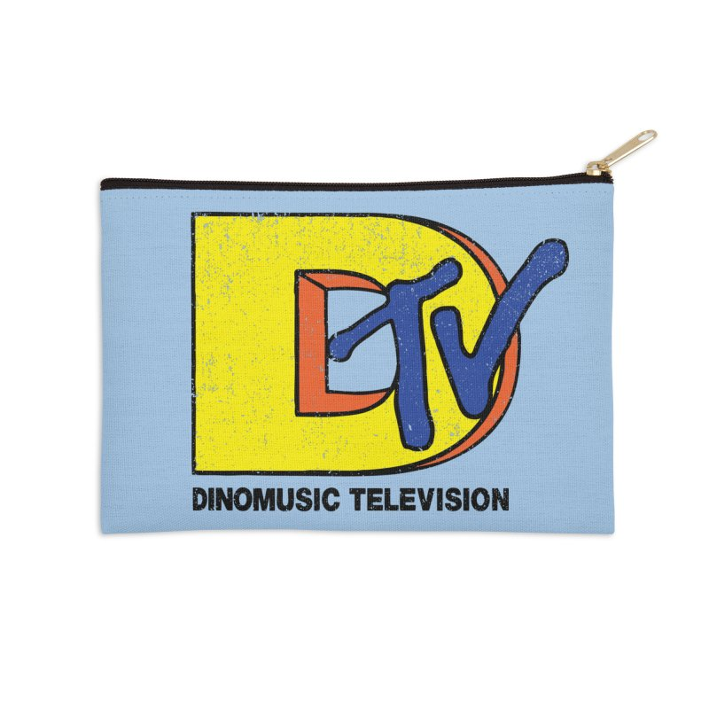 Dinomusic Television Accessories Zip Pouch by Daletheskater