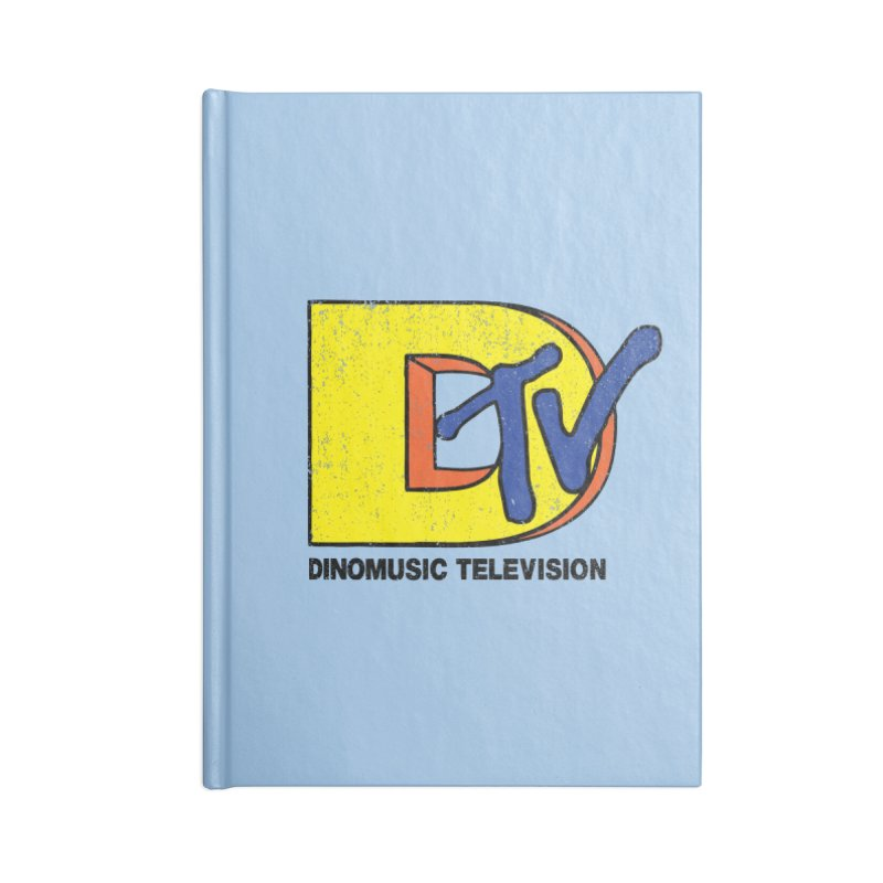 Dinomusic Television Accessories Notebook by Daletheskater