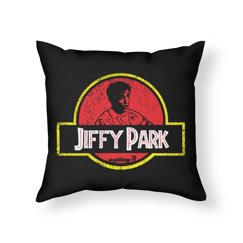 Jiffy Park Home Throw Pillow by Daletheskater