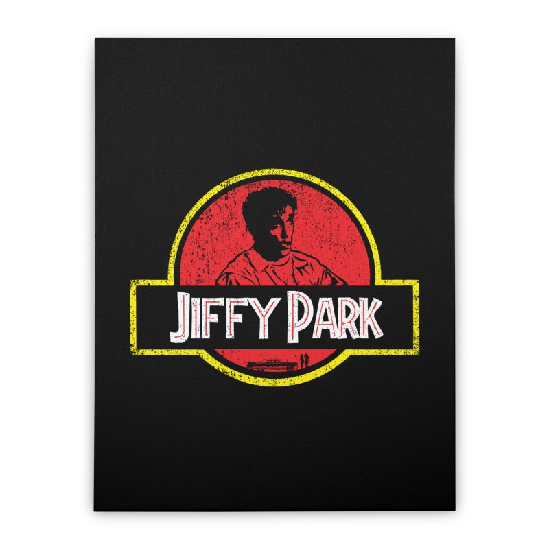 Jiffy Park Home Stretched Canvas by Daletheskater