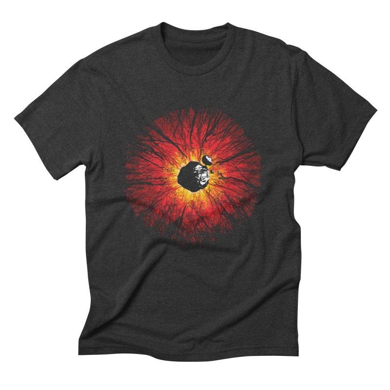 Eye Of Destruction Men's Triblend T-Shirt by Daletheskater