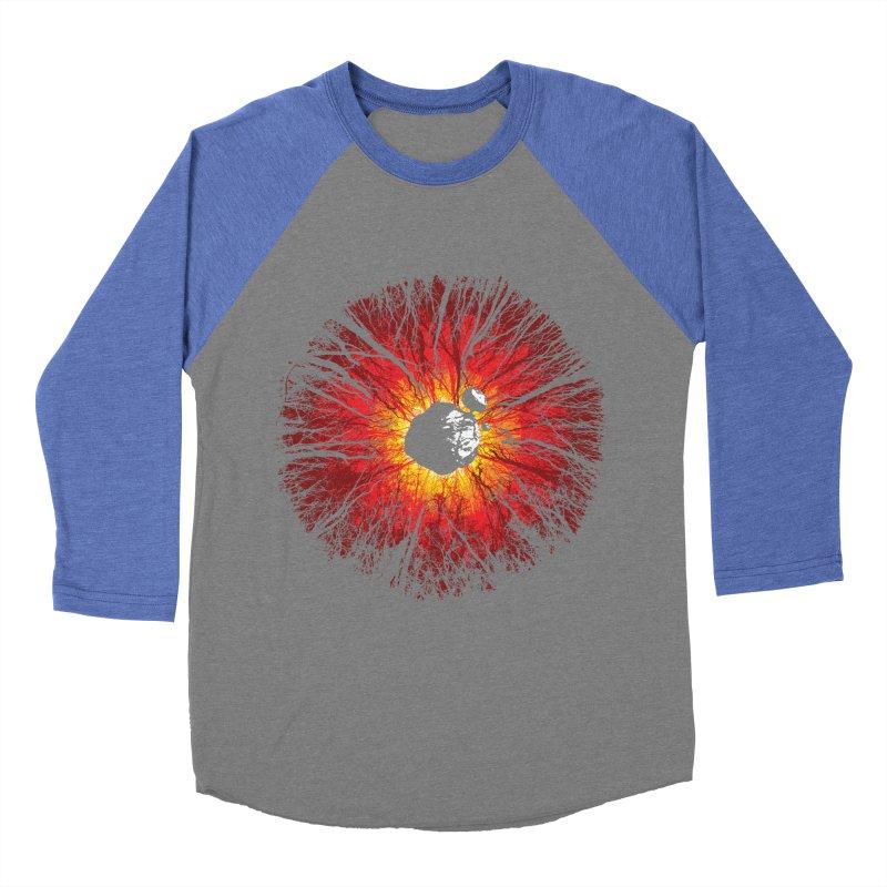 Eye Of Destruction Women's Baseball Triblend T-Shirt by Daletheskater