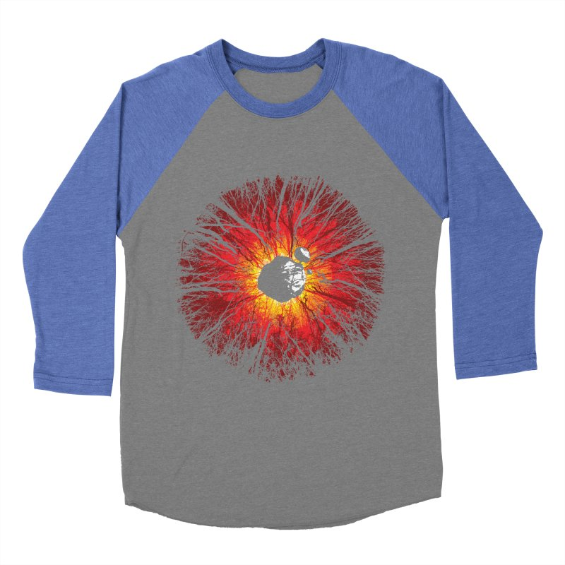Eye Of Destruction Men's Baseball Triblend T-Shirt by Daletheskater