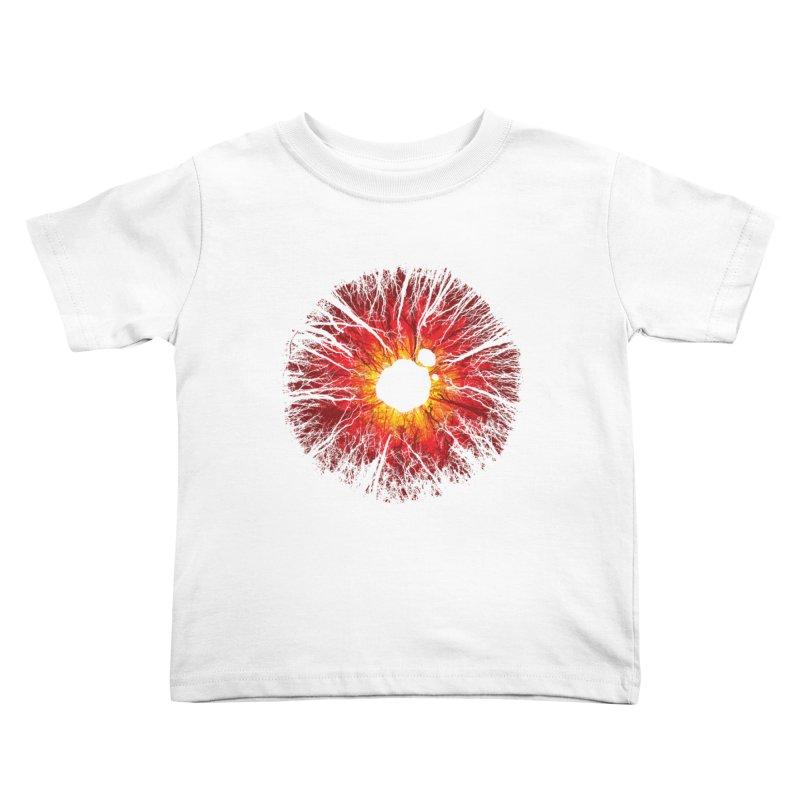 Eye Of Destruction Kids Toddler T-Shirt by Daletheskater