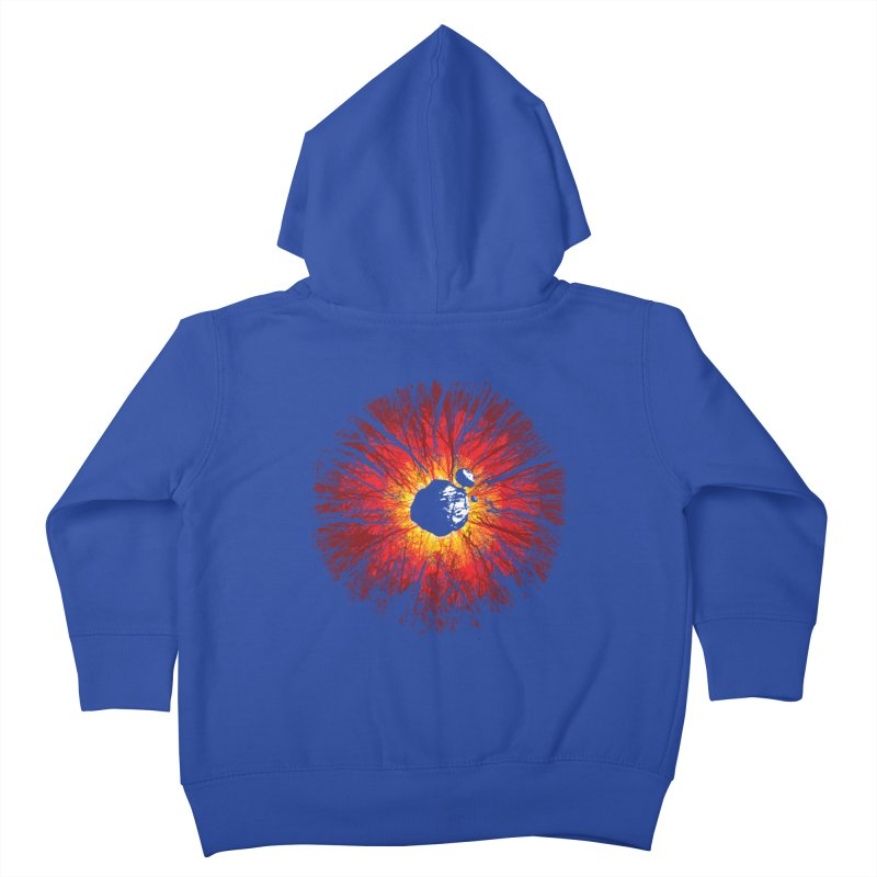 Eye Of Destruction Kids Toddler Zip-Up Hoody by Daletheskater