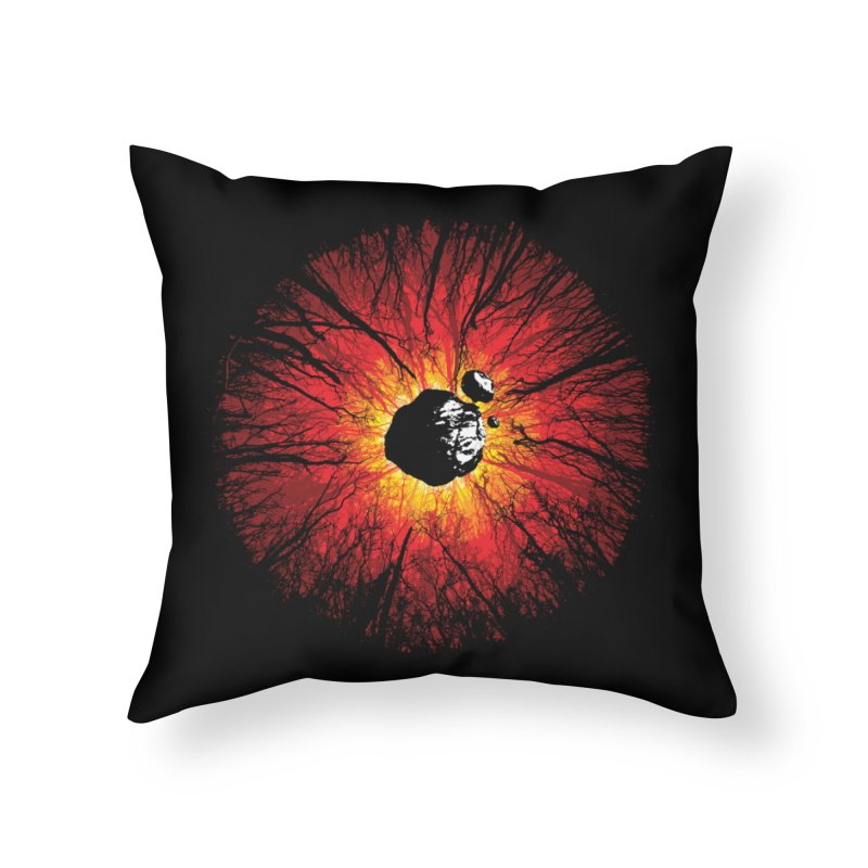 Eye Of Destruction Home Throw Pillow by Daletheskater