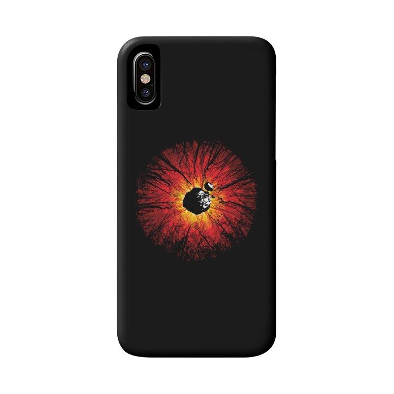 Eye Of Destruction Accessories Phone Case by Daletheskater