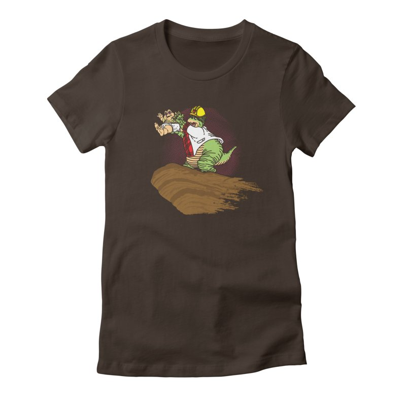Baby King Women's Fitted T-Shirt by Daletheskater