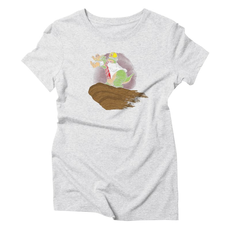 Baby King Women's Triblend T-Shirt by Daletheskater