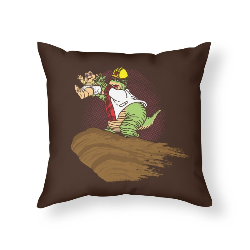 Baby King Home Throw Pillow by Daletheskater