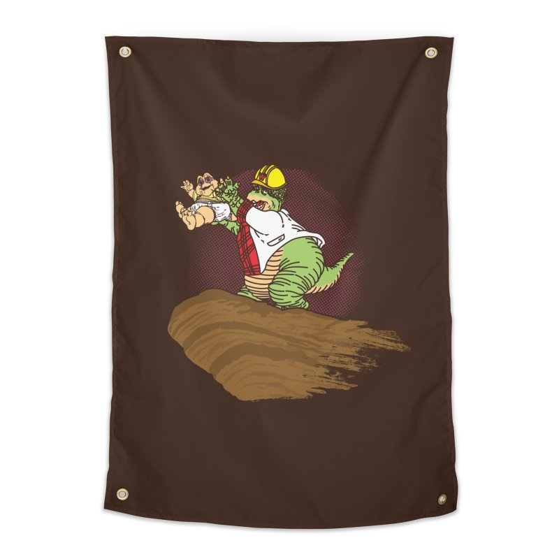 Baby King Home Tapestry by Daletheskater
