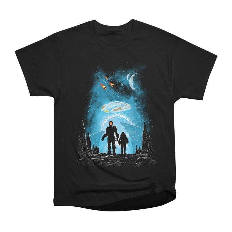 Unknown Destination Men's Heavyweight T-Shirt by Daletheskater