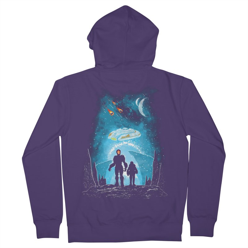 Unknown Destination Women's French Terry Zip-Up Hoody by Daletheskater