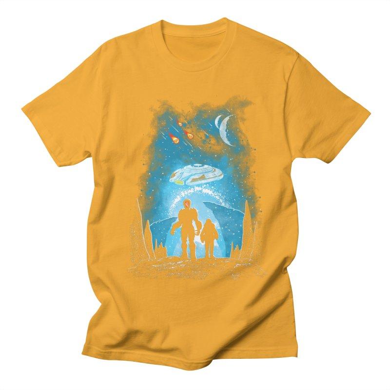 Unknown Destination Men's Regular T-Shirt by Daletheskater