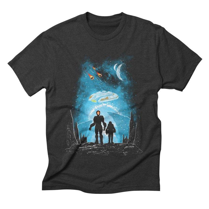 Unknown Destination Men's Triblend T-Shirt by Daletheskater