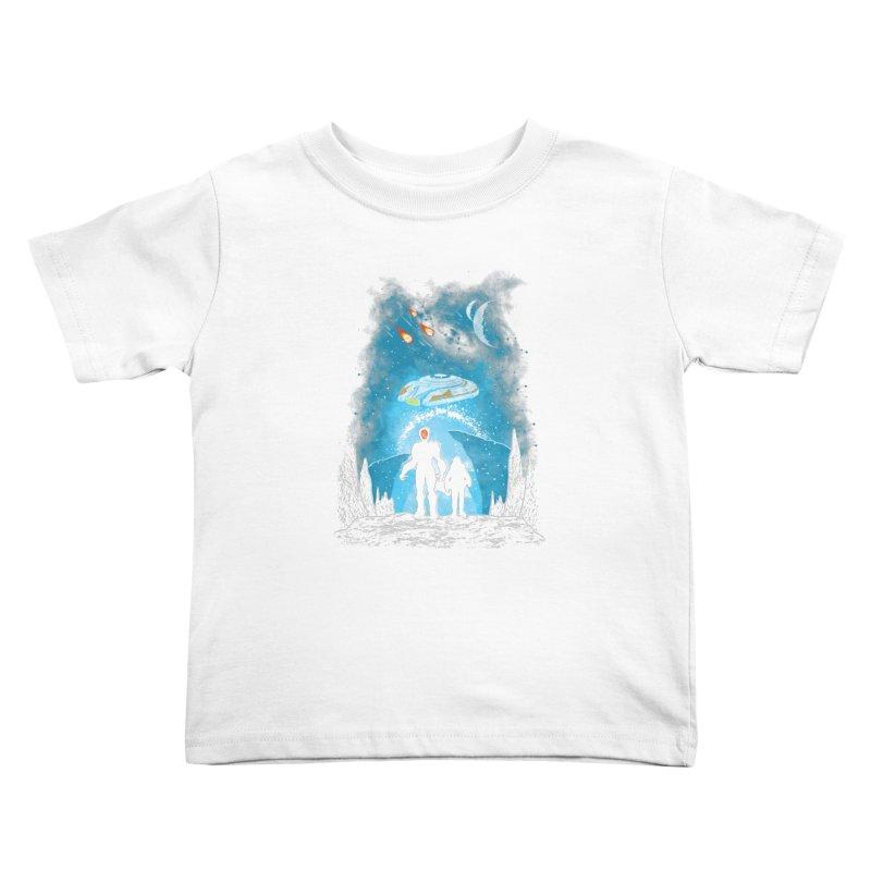 Unknown Destination Kids Toddler T-Shirt by Daletheskater