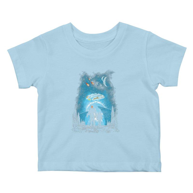 Unknown Destination Kids Baby T-Shirt by Daletheskater