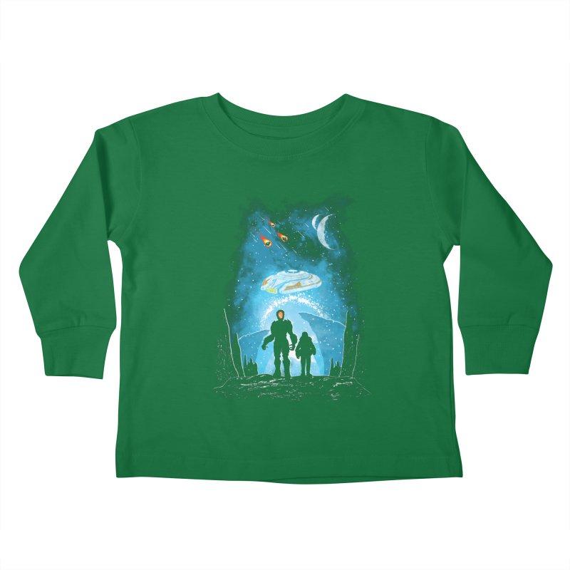 Unknown Destination Kids Toddler Longsleeve T-Shirt by Daletheskater