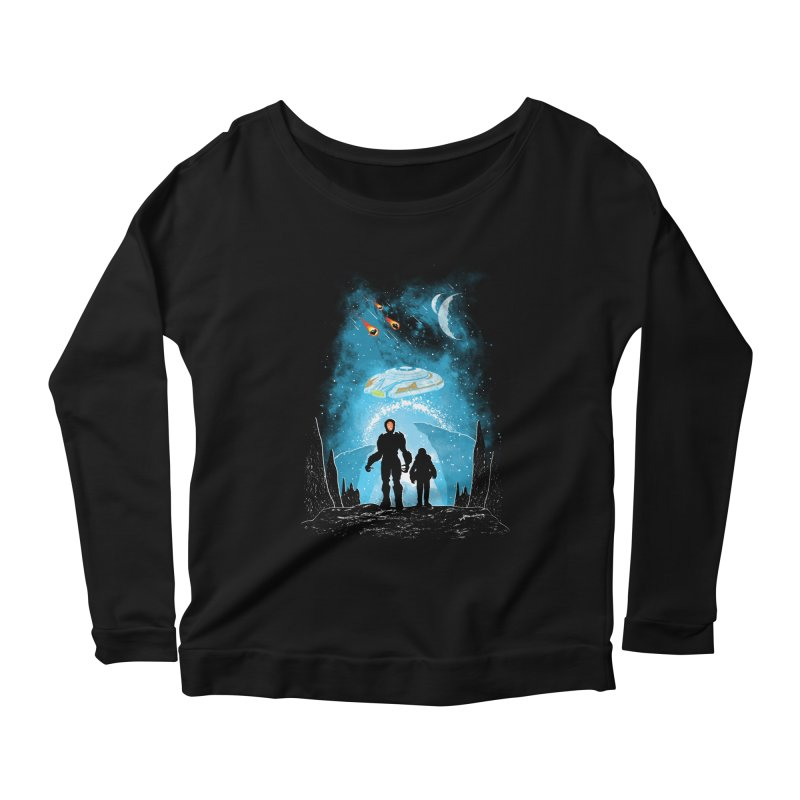Unknown Destination Women's Scoop Neck Longsleeve T-Shirt by Daletheskater