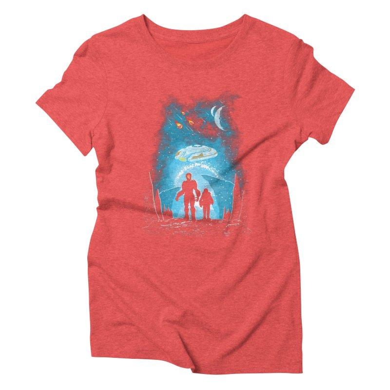 Unknown Destination Women's Triblend T-Shirt by Daletheskater