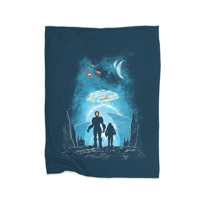 Unknown Destination Home Blanket by Daletheskater