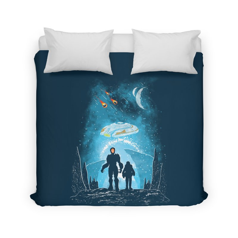 Unknown Destination Home Duvet by Daletheskater