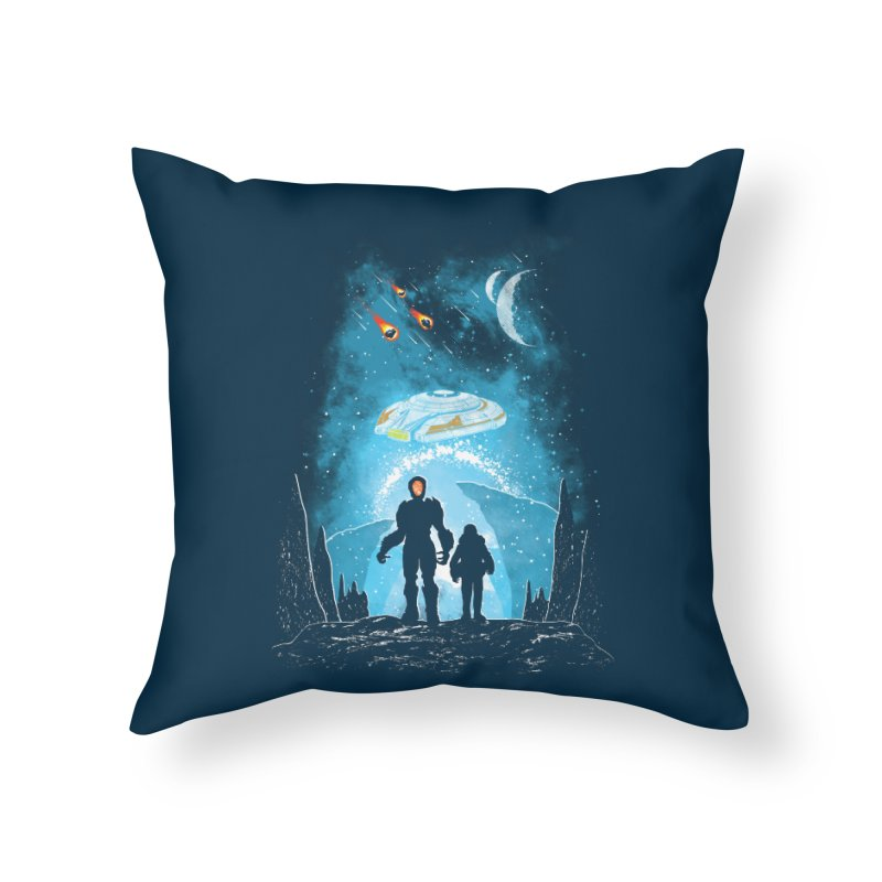 Unknown Destination Home Throw Pillow by Daletheskater