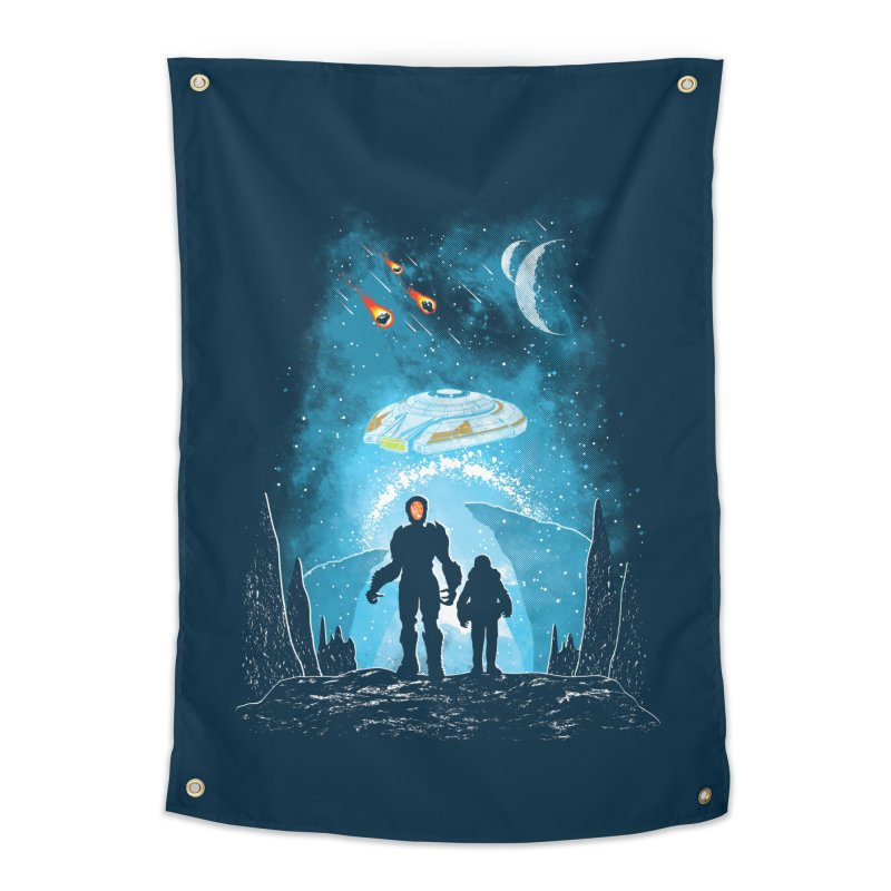 Unknown Destination Home Tapestry by Daletheskater