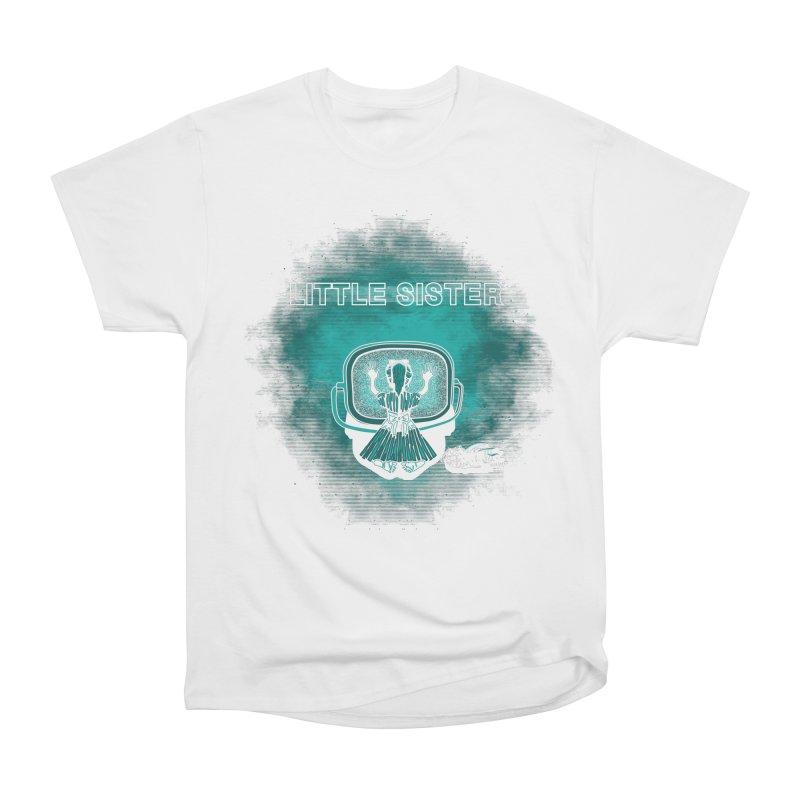 Little Sister Men's Heavyweight T-Shirt by Daletheskater