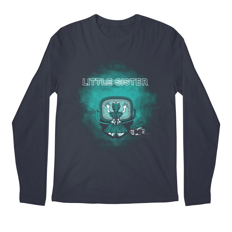 Little Sister Men's Longsleeve T-Shirt by Daletheskater