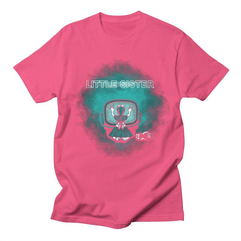 Little Sister Men's Regular T-Shirt by Daletheskater