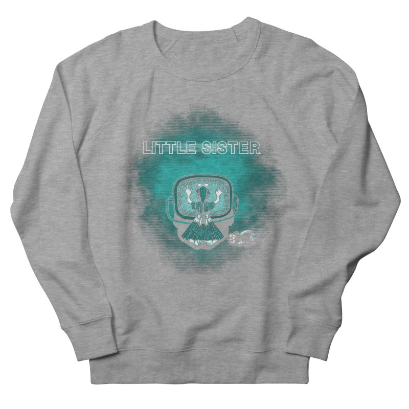 Little Sister Women's French Terry Sweatshirt by Daletheskater