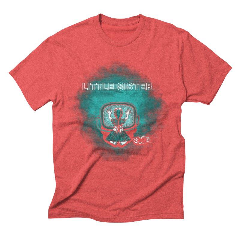 Little Sister Men's Triblend T-Shirt by Daletheskater