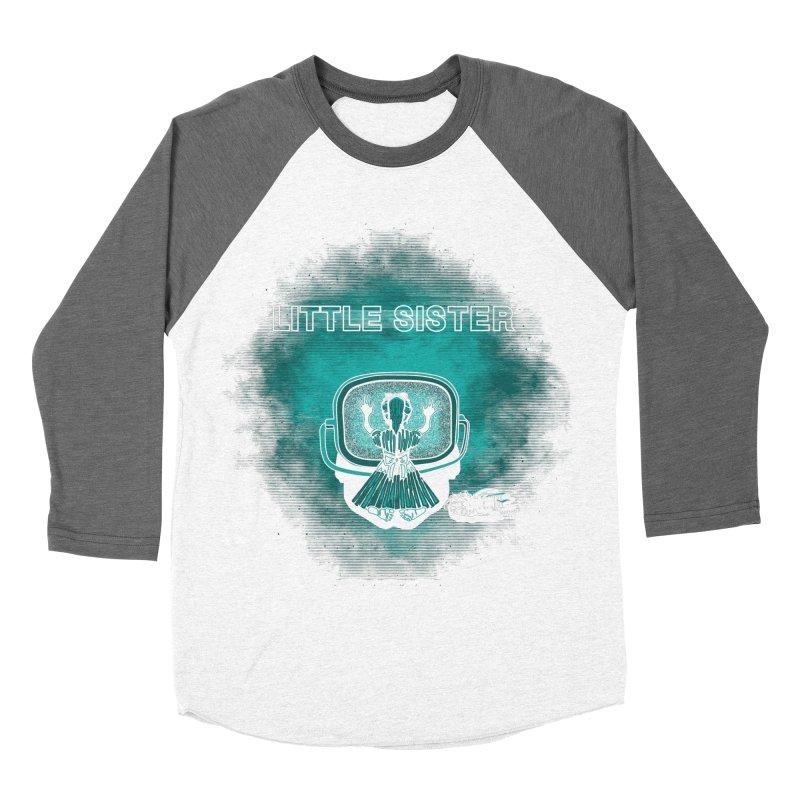 Little Sister Women's Baseball Triblend T-Shirt by Daletheskater