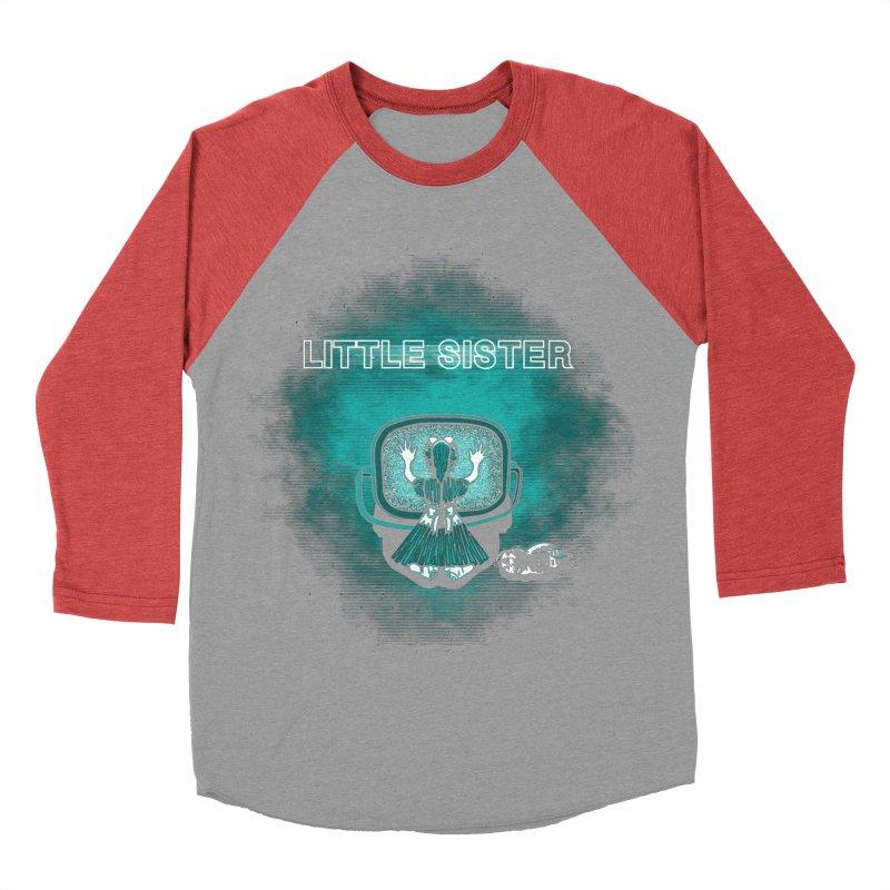Little Sister Men's Baseball Triblend T-Shirt by Daletheskater