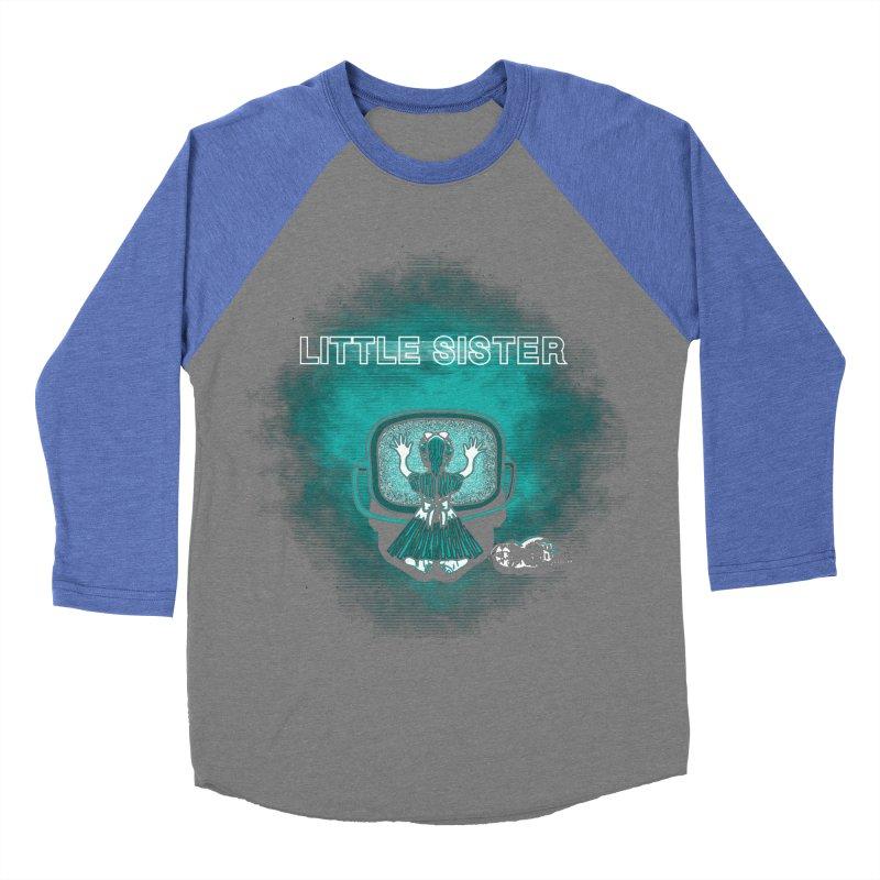 Little Sister Men's Baseball Triblend Longsleeve T-Shirt by Daletheskater