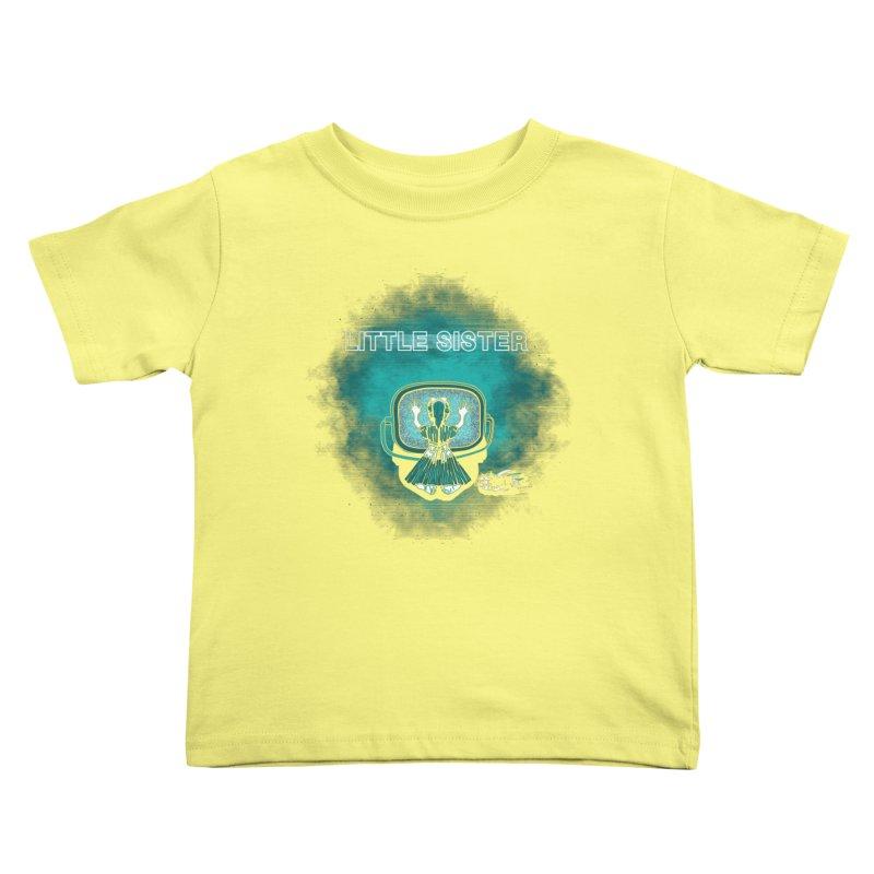 Little Sister Kids Toddler T-Shirt by Daletheskater