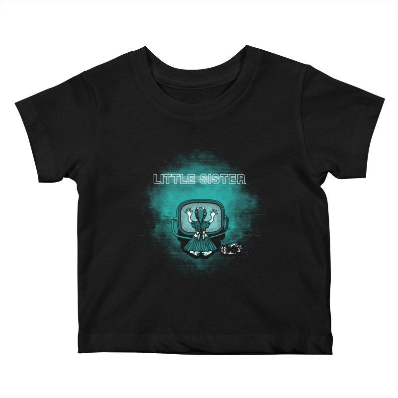 Little Sister Kids Baby T-Shirt by Daletheskater
