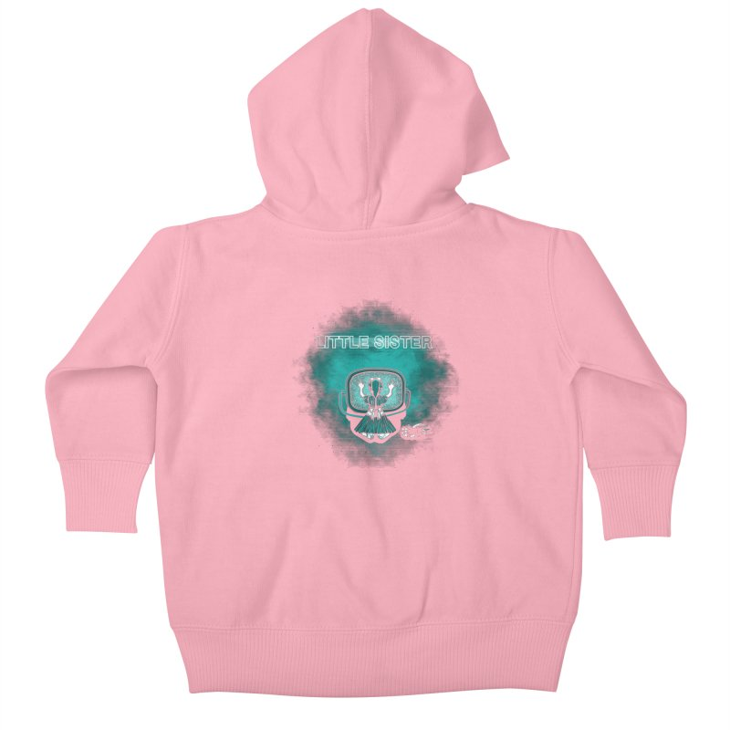 Little Sister Kids Baby Zip-Up Hoody by Daletheskater