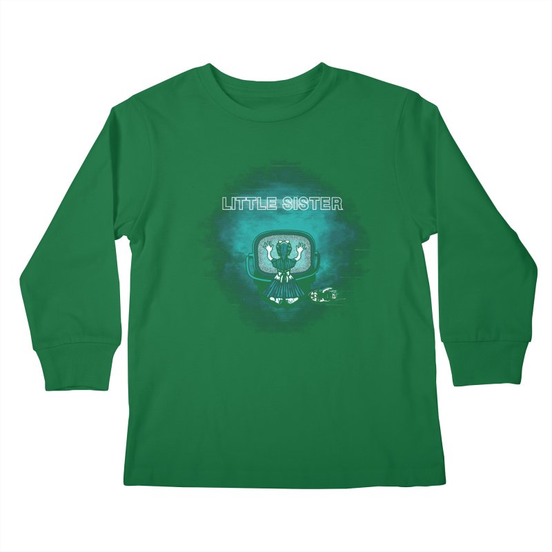Little Sister Kids Longsleeve T-Shirt by Daletheskater