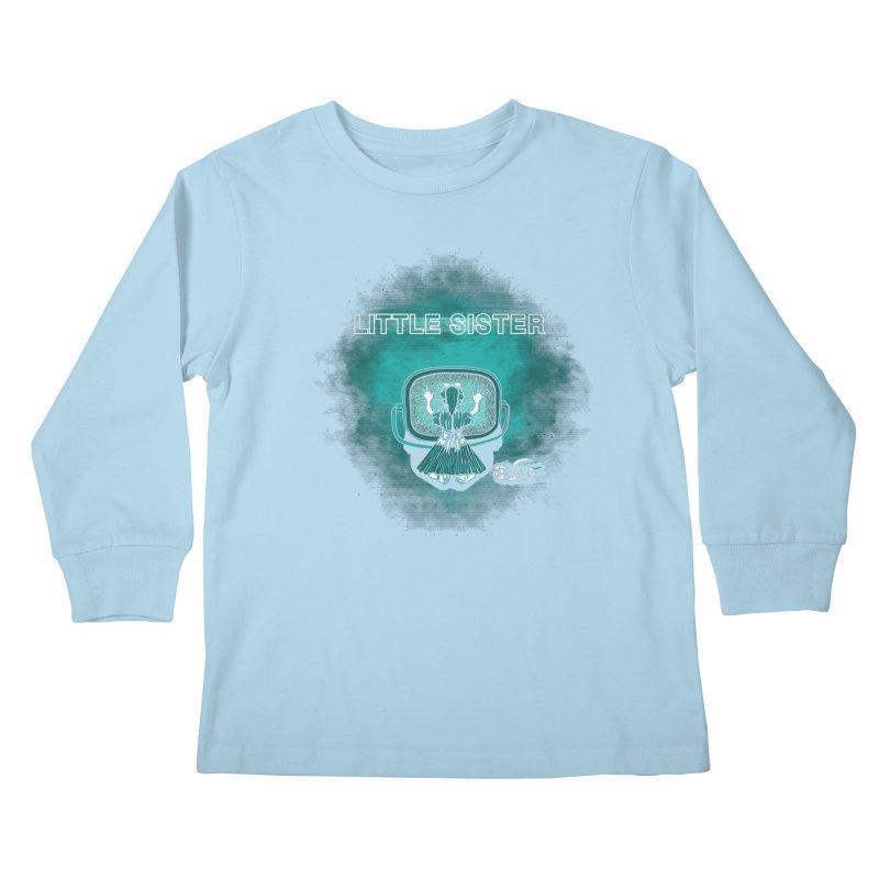 Little Sister Kids Longsleeve T-Shirt by Daletheskater