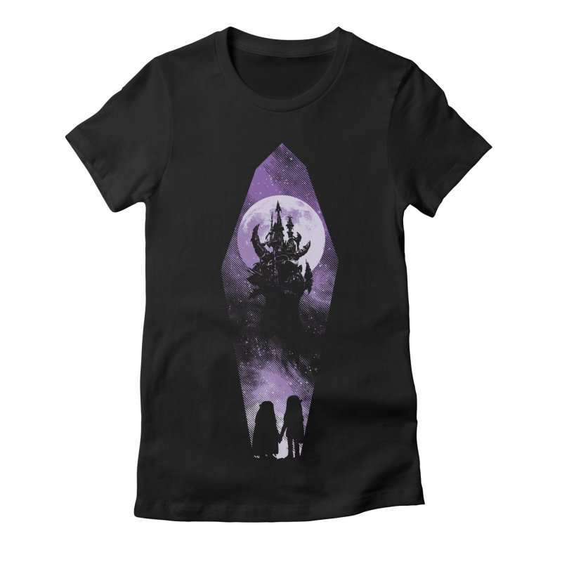 The Prophecy Women's Fitted T-Shirt by Daletheskater
