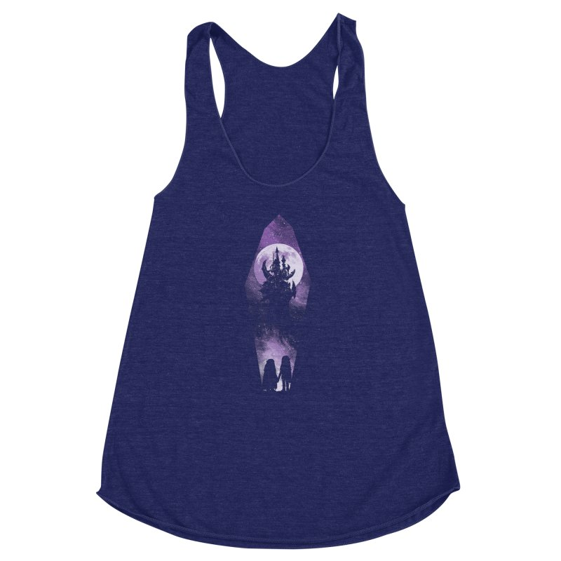 The Prophecy Women's Racerback Triblend Tank by Daletheskater